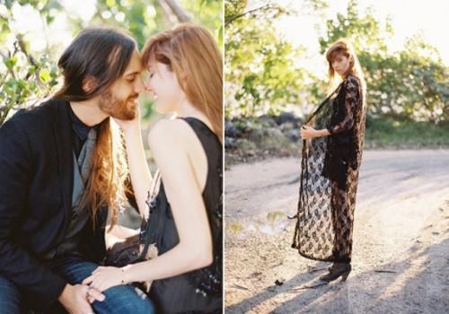 Dark Romance Gypsy Engagement Shoot