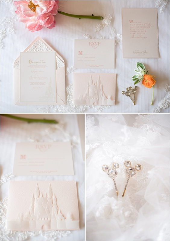 Picture Of darling disney themed wedding inspiration  2