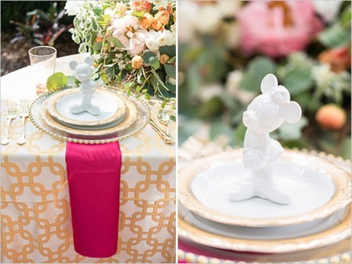 Darling Disney Themed Wedding Inspiration