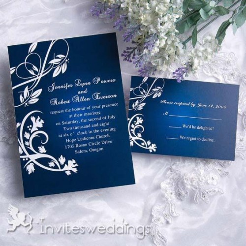Dazzling Blue Weeding Ideas