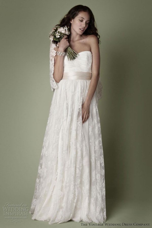 Decades Vintage Dresses Collection For Romantic Brides - Weddingomania