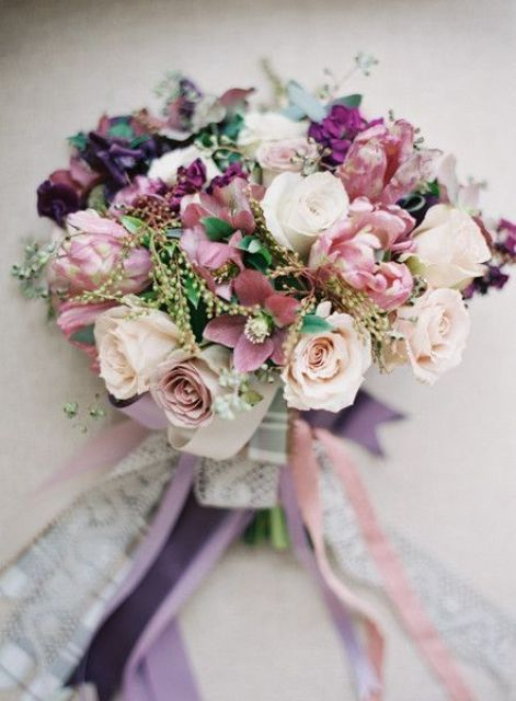 The Hottest Wedding Trend 32 Delicate Mauve Wedding Ideas