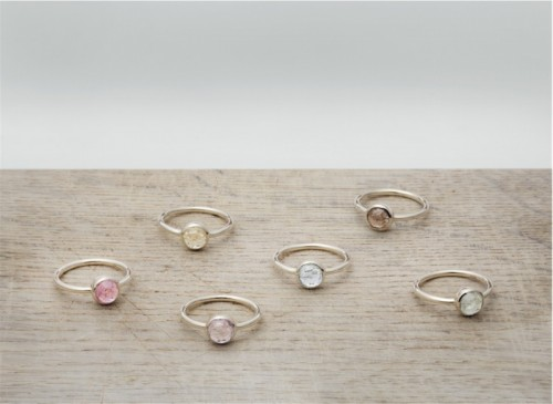 Delicate And Elegant Wedding Rings By Betsey Sook