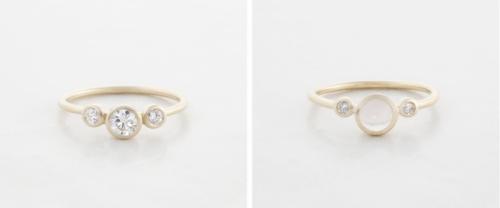 Delicate And Elegant Wedding Rings By Betsey Sook