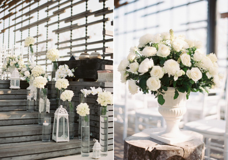 Picture Of delicate and intimate all white bali wedding  12