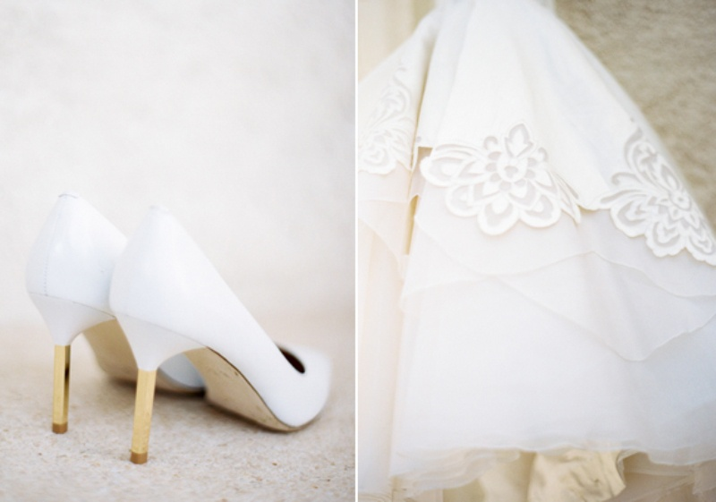 Picture Of delicate and intimate all white bali wedding  2