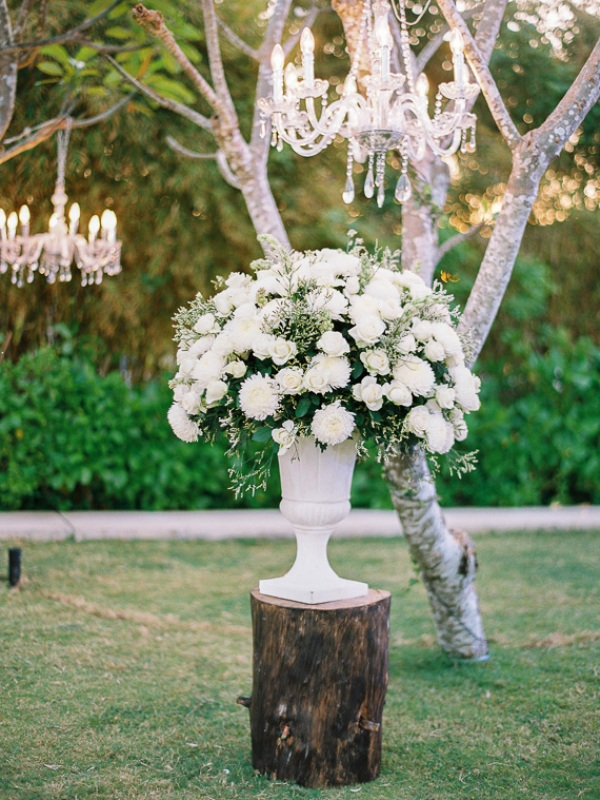 Picture Of delicate and intimate all white bali wedding  22
