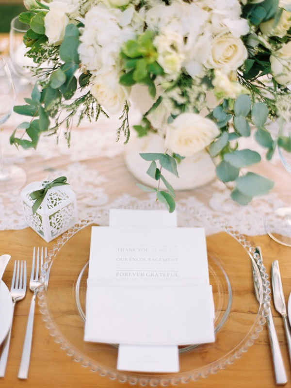 Picture Of delicate and intimate all white bali wedding  24