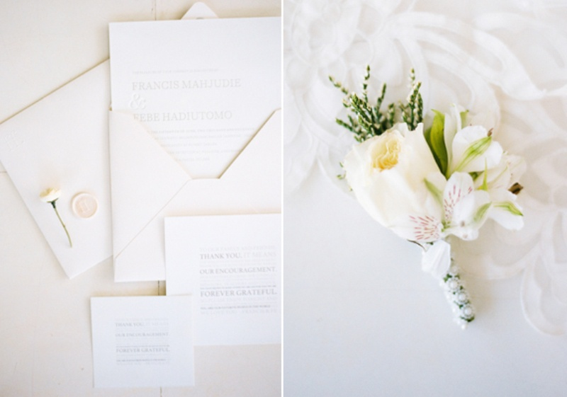 Picture Of delicate and intimate all white bali wedding  4