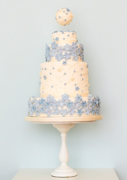 Delicate And Lovely Floral Wedding Cakes Collection By Rosalind Miller