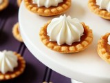 mini tartlets with cream inside are a delicious and simple idea of a mini dessert at a wedding