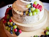 Delicious Vineayrd Wedding Cakes And Cheese Towers