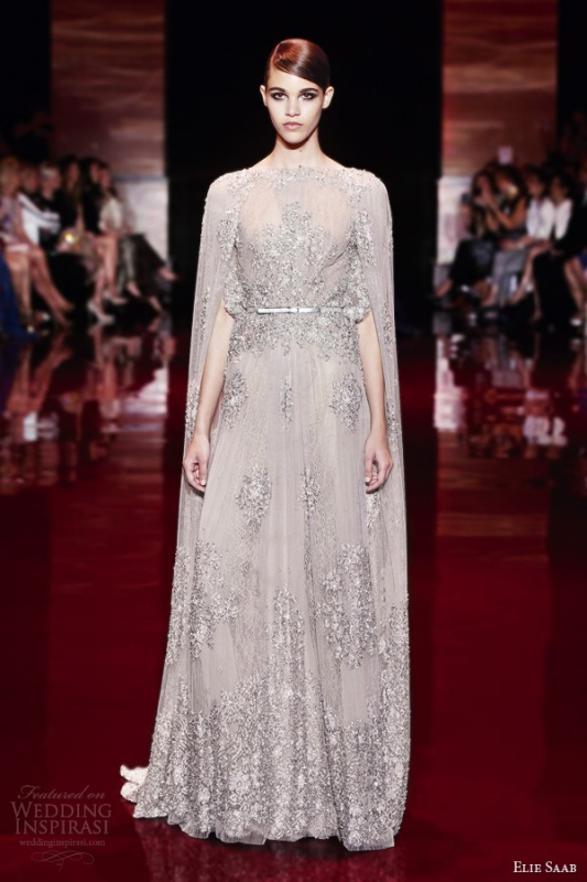 Picture of delightful elie saab fallwinter 2013 2014 for Elle king wedding dress designer