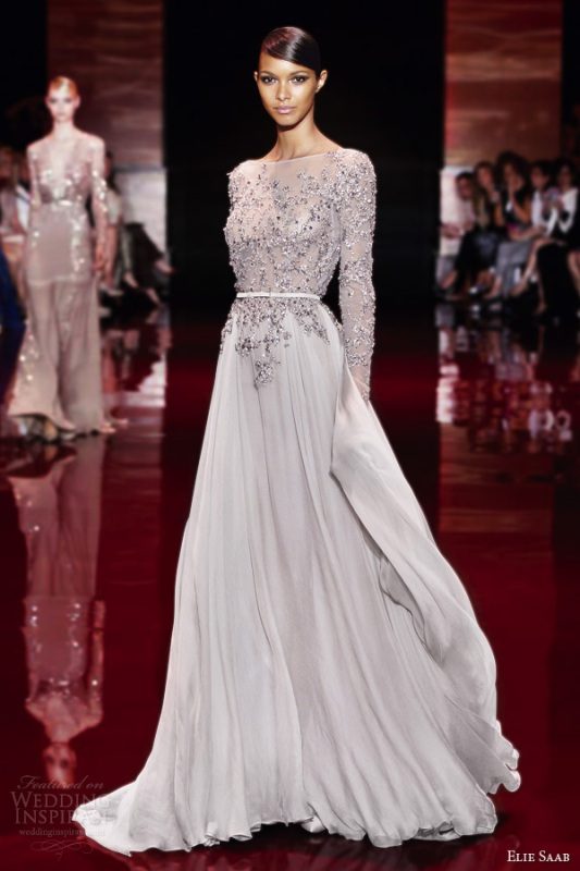 Picture Of Delightful Elie Saab Fallwinter 2013 2014 Couture Collection