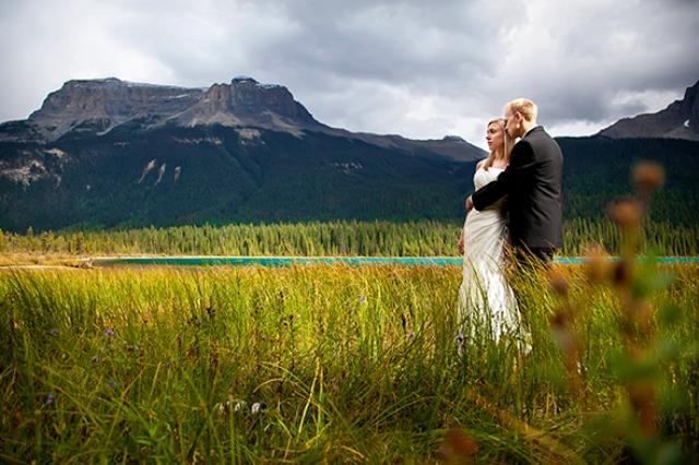 Destination Photo Shoot On Emerald Lake In British Columbia