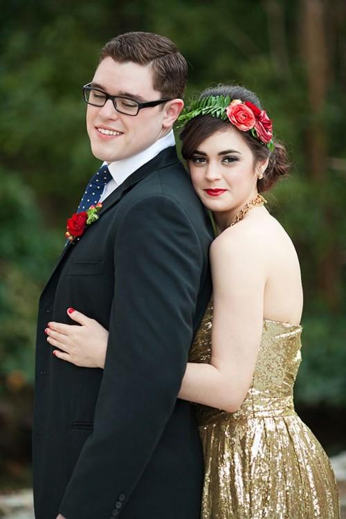 Disney Beauty And The Beast Wedding Shoot