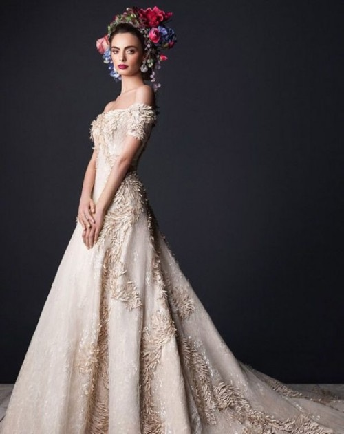 Divine And Luxurious Rami Al Ali Wedding Dresses Collection