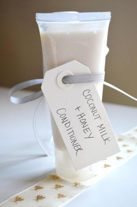 Picture Of divine diy coconut milk conditioner to please your bridesmaids  2