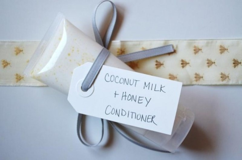 Picture Of divine diy coconut milk conditioner to please your bridesmaids  3