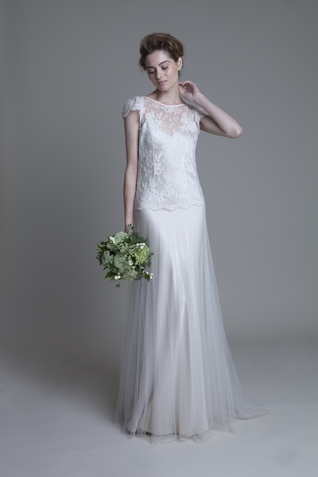 Picture Of divine halfpenny london 2015 wedding dresses collection  11