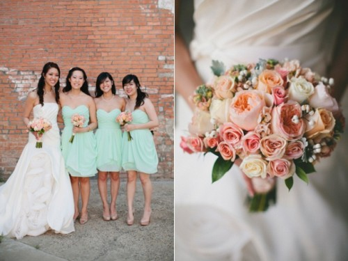 Diy Aquamint Cotton Mill Wedding