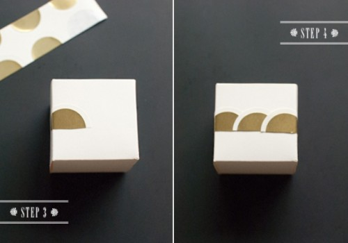Diy Art Deco Wedding Favor Boxes