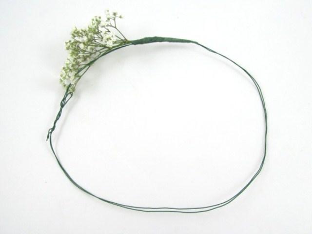 Diy Babys Breath Floral Crown