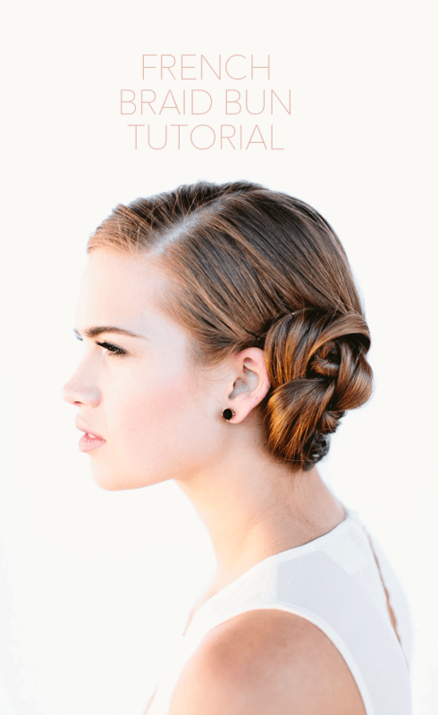 Diy Beautiful French Braid Bun Hair For Your Wedding Look