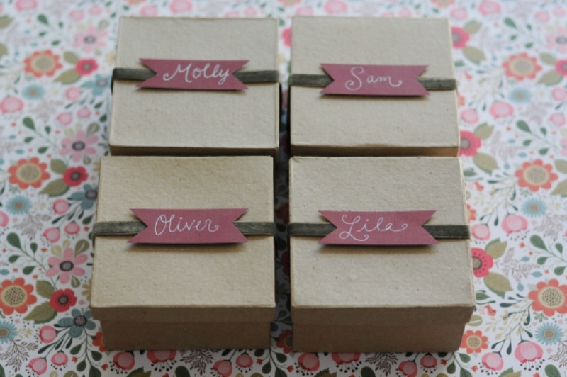 Diy Bulb Favor Boxes For Your Wedding Guests