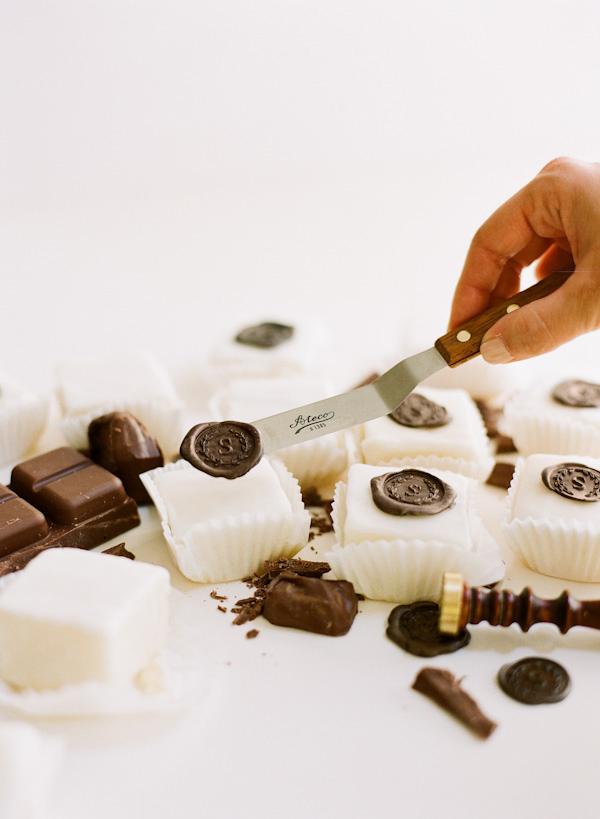 Diy Chocolate Wax Seal Petit Fours