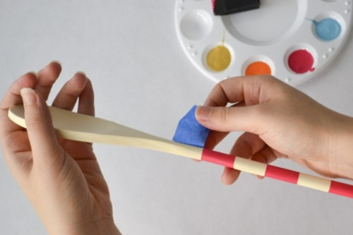 Diy Colorful Spoons As Funny Guestbook Alternative