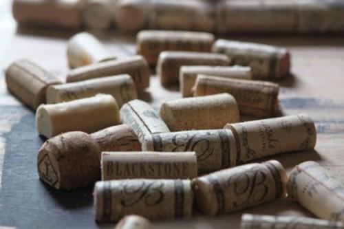 Diy Cork Placecards For A Vineyard Wedding
