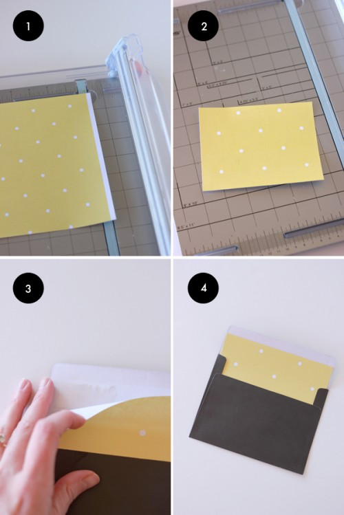 Diy Custom Envelope Liner