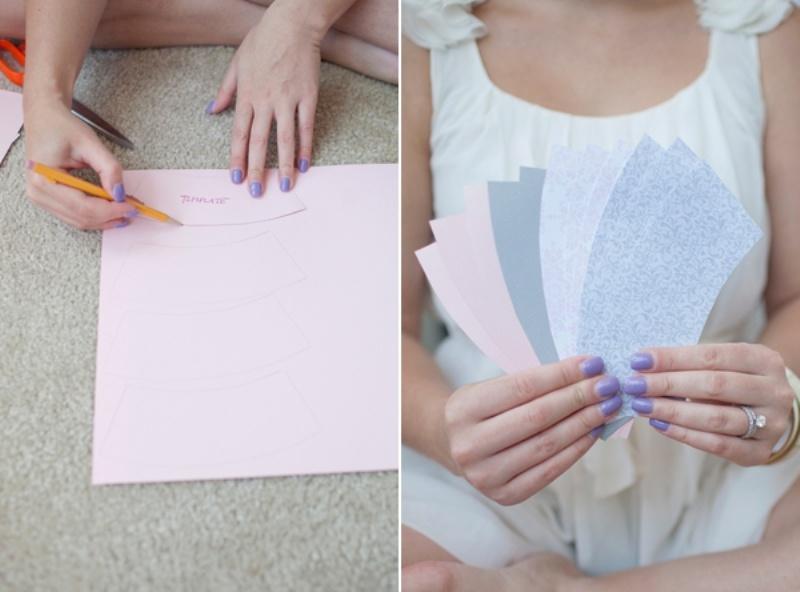 Diy Dixie Cup Garland For Your Wedding Or Bachelorette Party