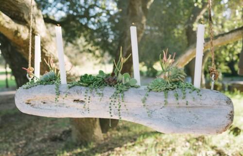 Diy Driftwood Candelabra For A Rustic Wedding