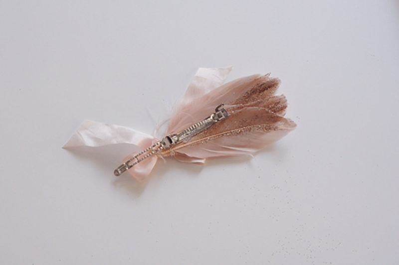 Diy Fancy Glitter Feathers