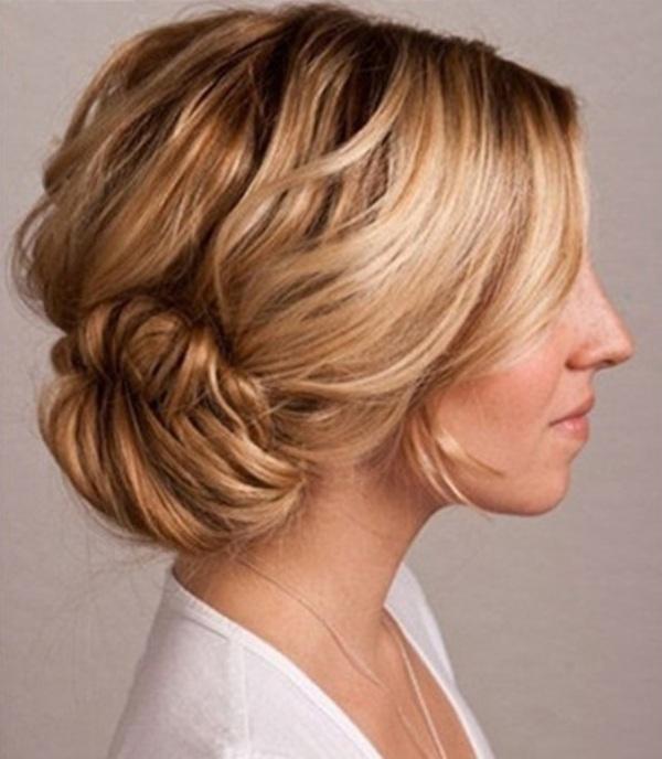 Bun Hairstyles for Short Hair