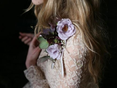 Vintage-Inspired DIY Flower Collar Corsage