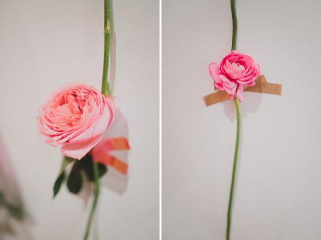 Unique Diy Fresh Flower Wall For Wedding Decor
