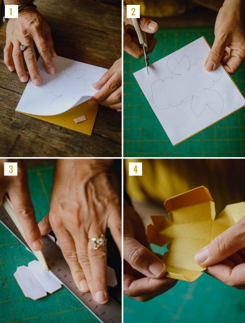 Diy Geometric Boutonniere With Billy Balls