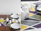 diy-geometric-table-runner-for-modern-weddings-6