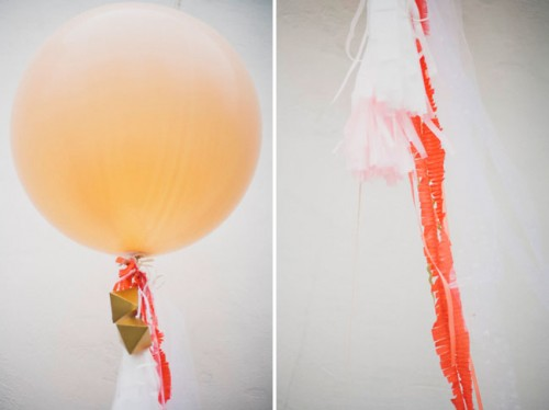 Diy Giant Balloon With Streamers