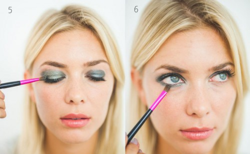 DIY Grey Smokey Eye Makeup For Brides
