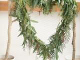 Diy Heart Floral Backdrop For Weddings