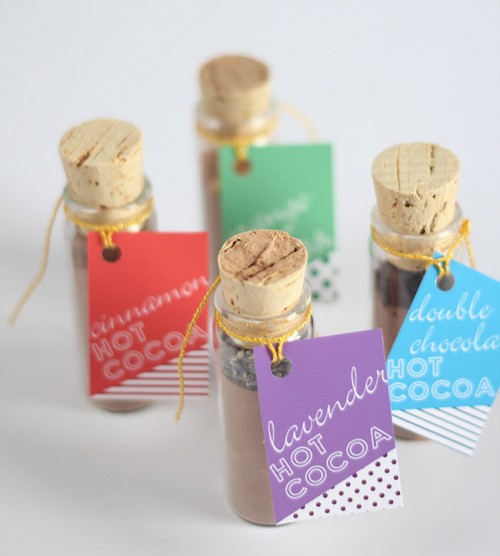 Diy Hot Cocoa Favors For A Winter Wedding