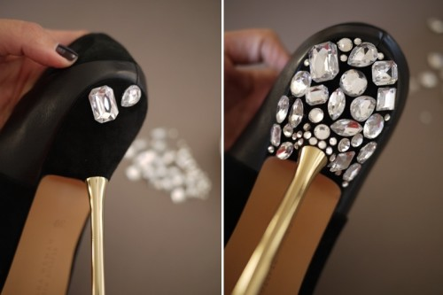 Diy Jeweled Heels For Your Wedding Gorgeous Look