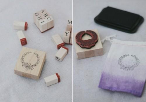 Diy Lavender Ombre Wedding Favor Bags