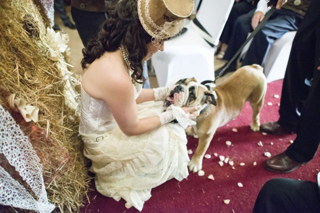Picture Of diy low cost south african steampunk wedding  2