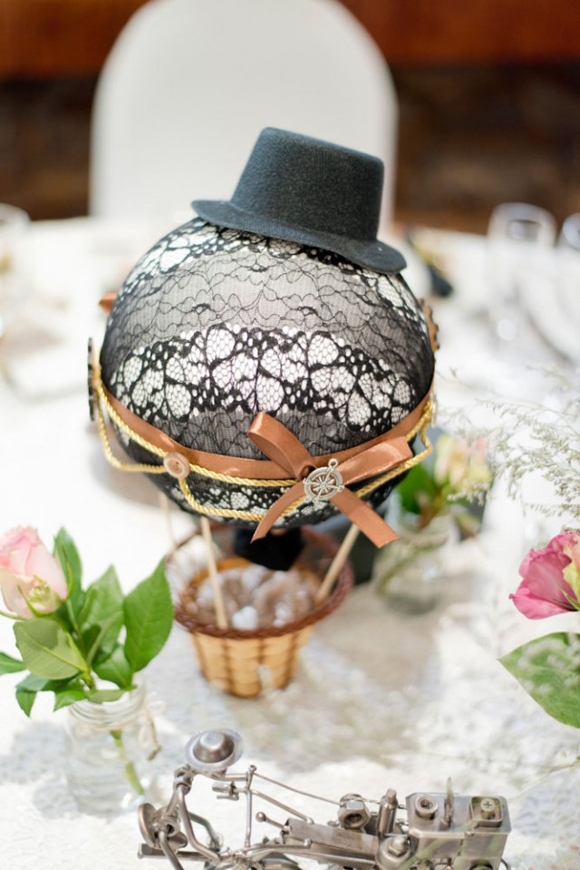 Picture Of diy low cost south african steampunk wedding  3