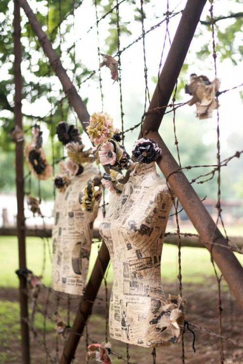 DIY Low Cost South African Steampunk Wedding